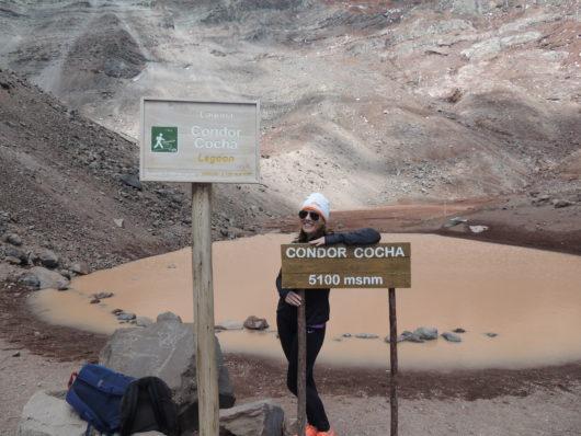 Lotte next level Chimborazo Ecuador