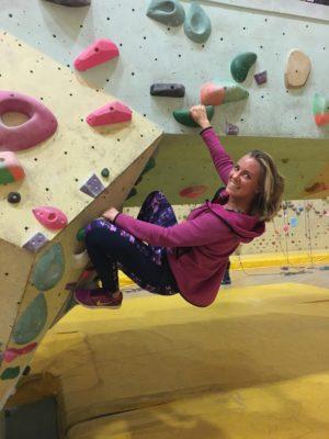 nieuwe hobby wanderlotje klimmen