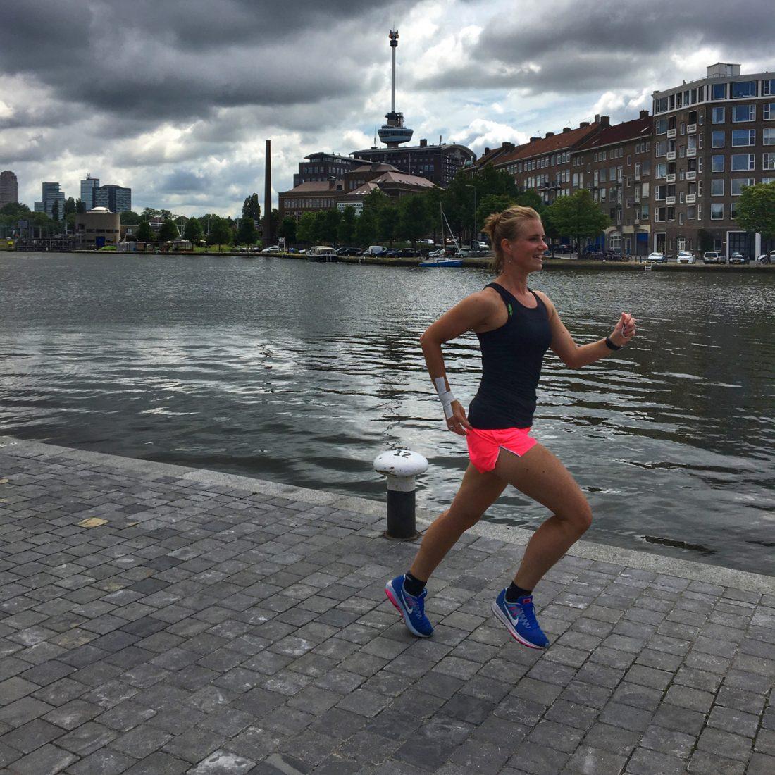 Rennen in rotterdam- Wanderlotje