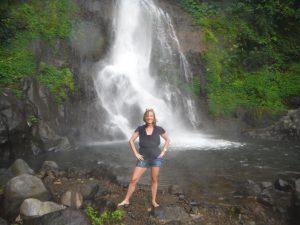 De Git Git waterval op Bali
