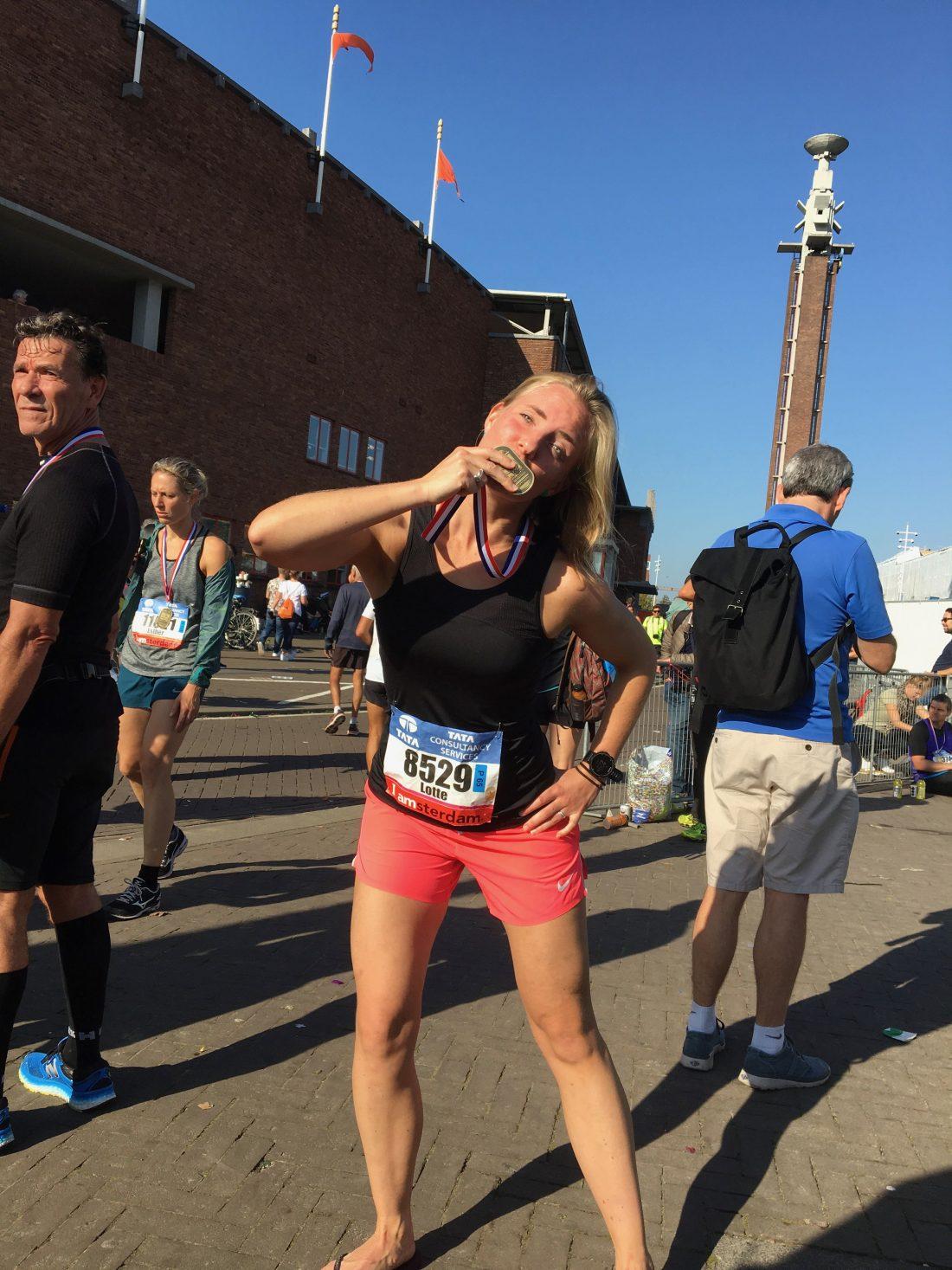 Marathon van Amsterdam - droomdebuut