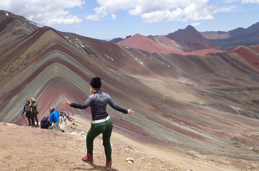 Het mooie rainbow mountain