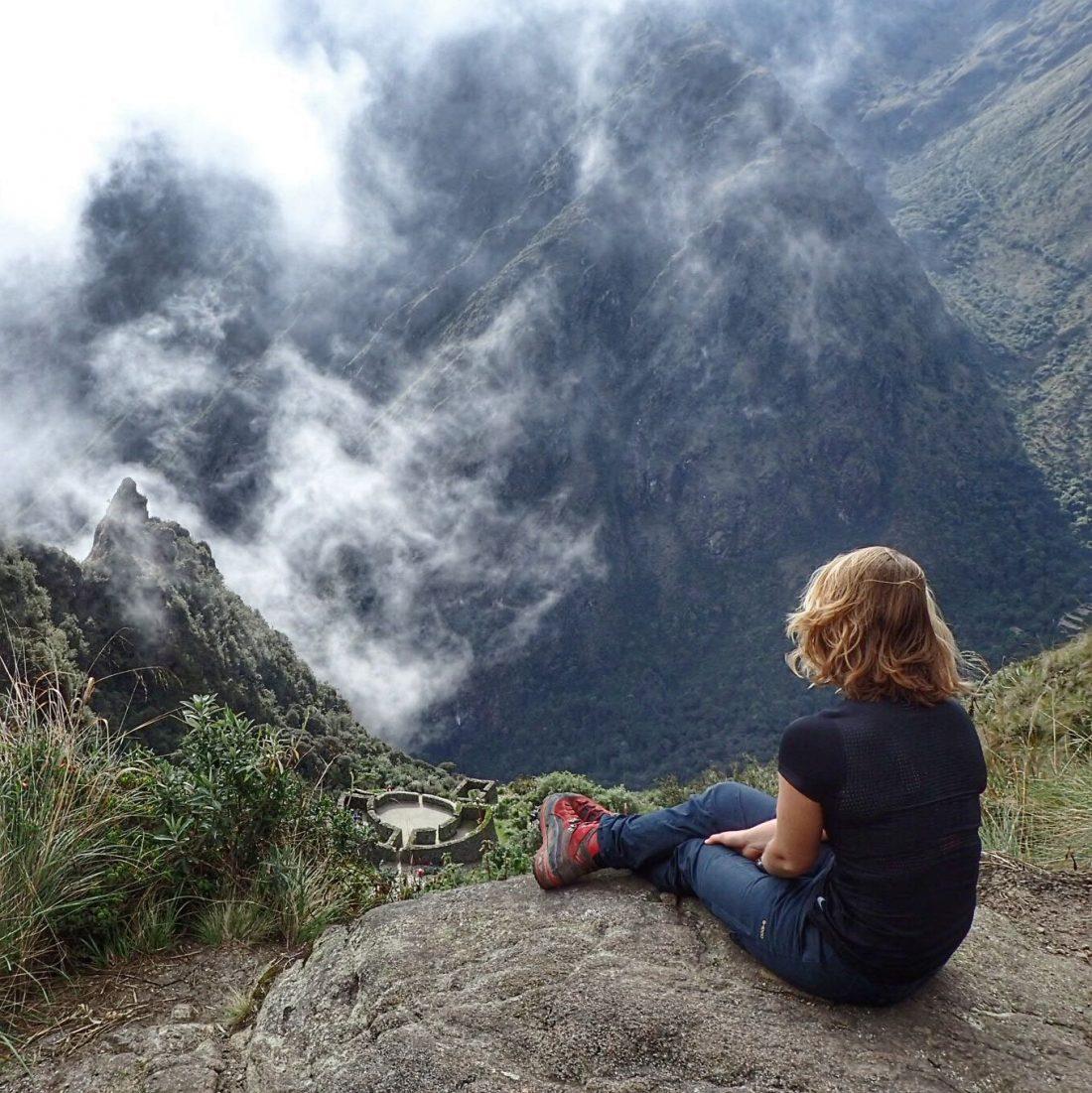 Beste uitkijk spot ever - wanderlotje - Inca Trail