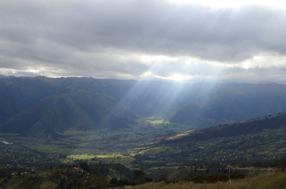 Let the sun shine - Imbabura - wanderlotje
