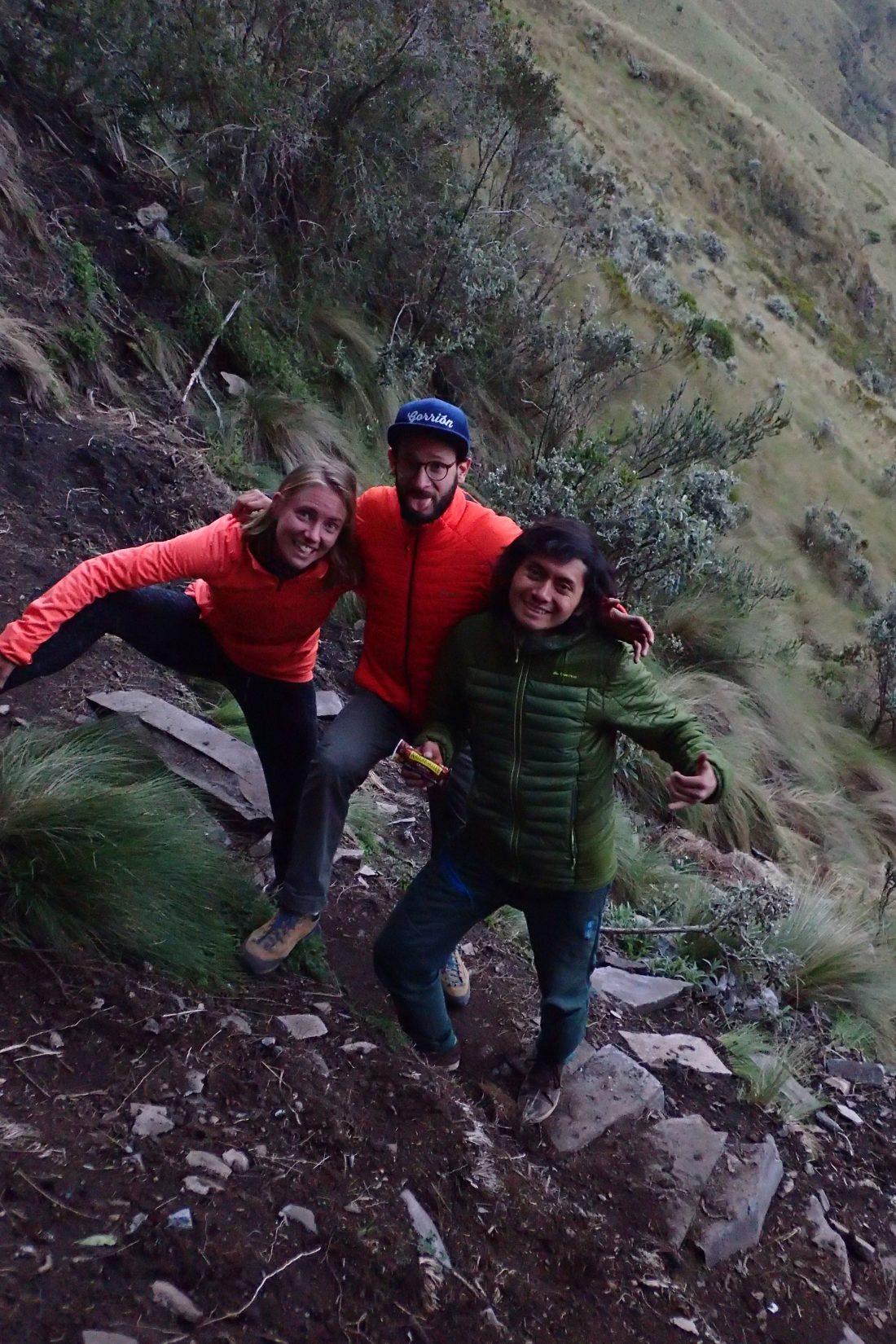 Klim crew - met Jeroen en Panchito - Pichincha, Quito - Wanderlotje