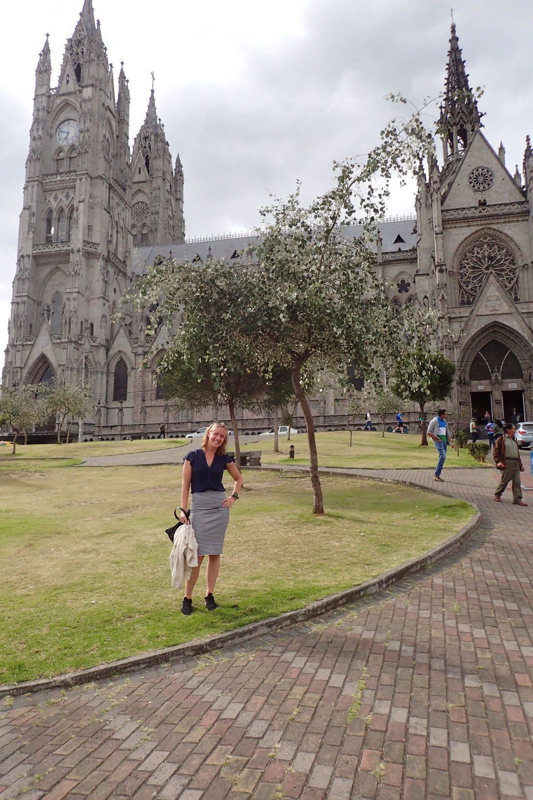 Kathedraal van Quito - Want ze hebben er echt meer dan alleen bergen en natuur - Wanderlotje