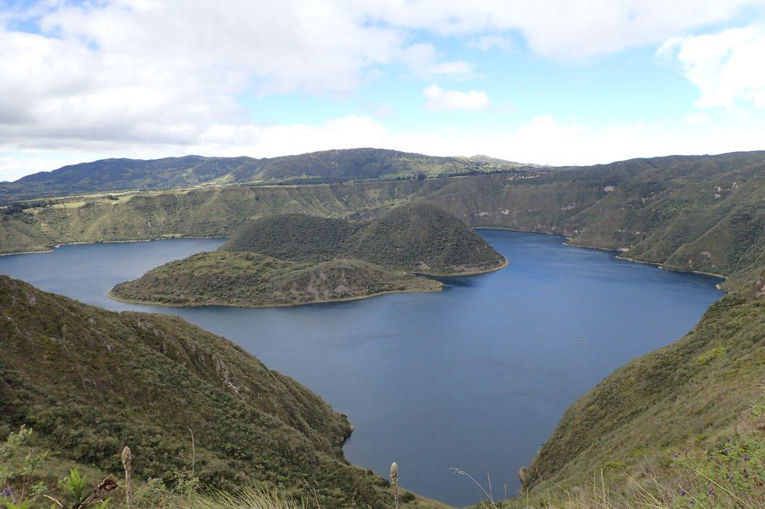 Kratermeer van Cuicocha - wanderlotje