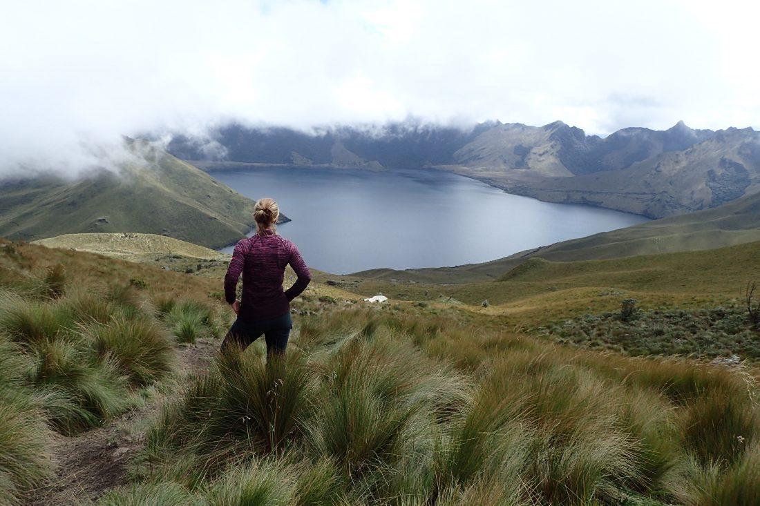 Fuya Fuya - Lake van Mojanda - wanderlotje