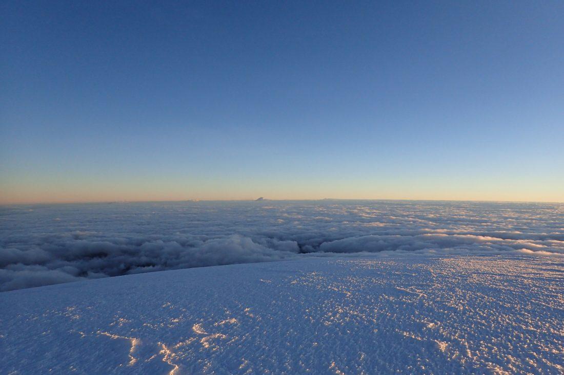 Zo mooi!!! - Whymper top - Chimborazo - Wanderlotje
