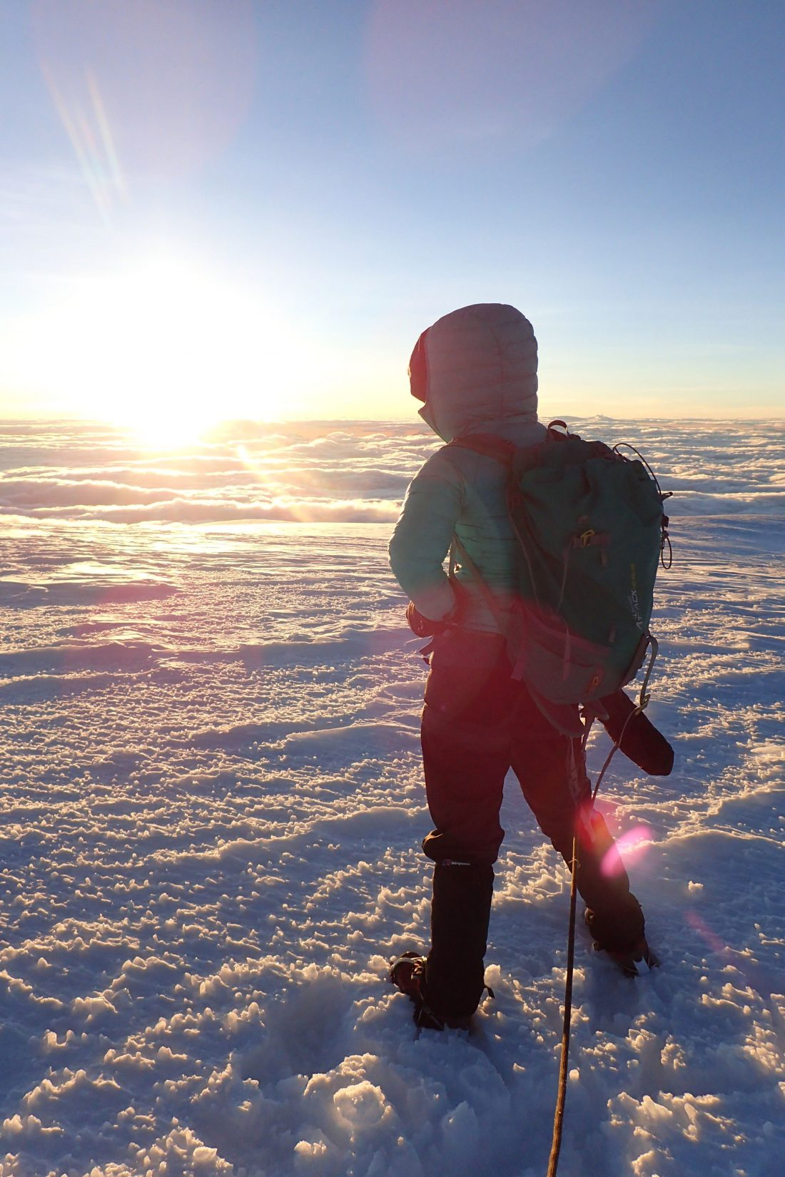Here comes the sun - in het zonnetje - Wanderlotje - Chimborazo