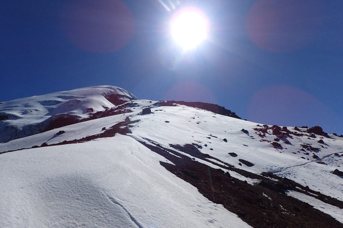 On the way down - Diepe ellende.. maar no regrets ever!!! - Chimborazo - Wanderlotje