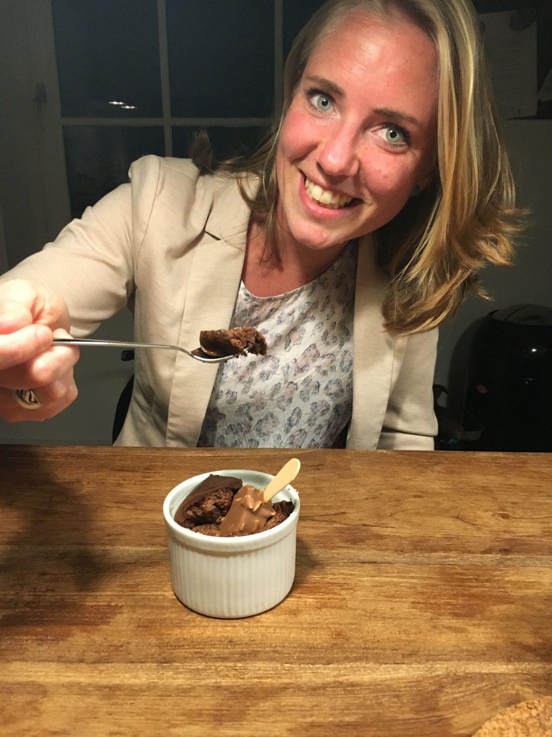 Chocolade soufflé next level - wanderlotje