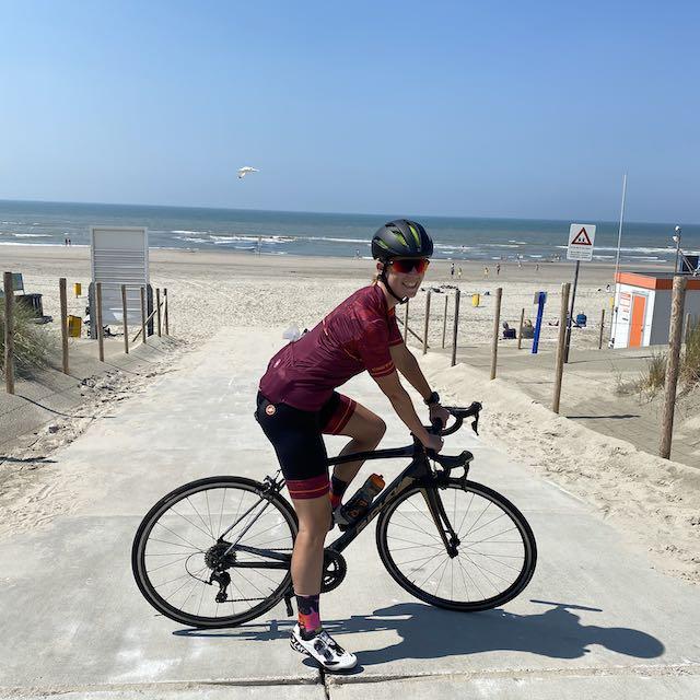 Wielrennen, op de fiets naar Haarlem