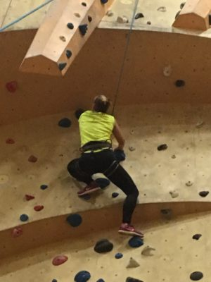 nieuwe hobby klimmen wanderlotje
