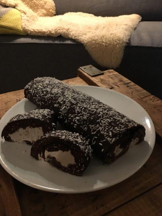 vegan chocolade rol