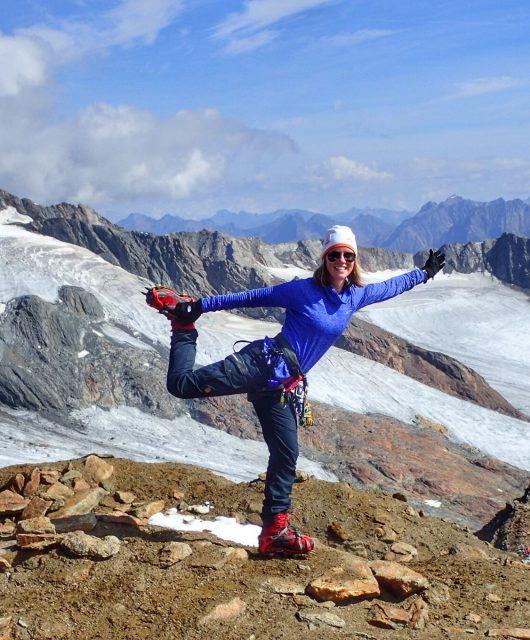 On top of the world-wanderlotje