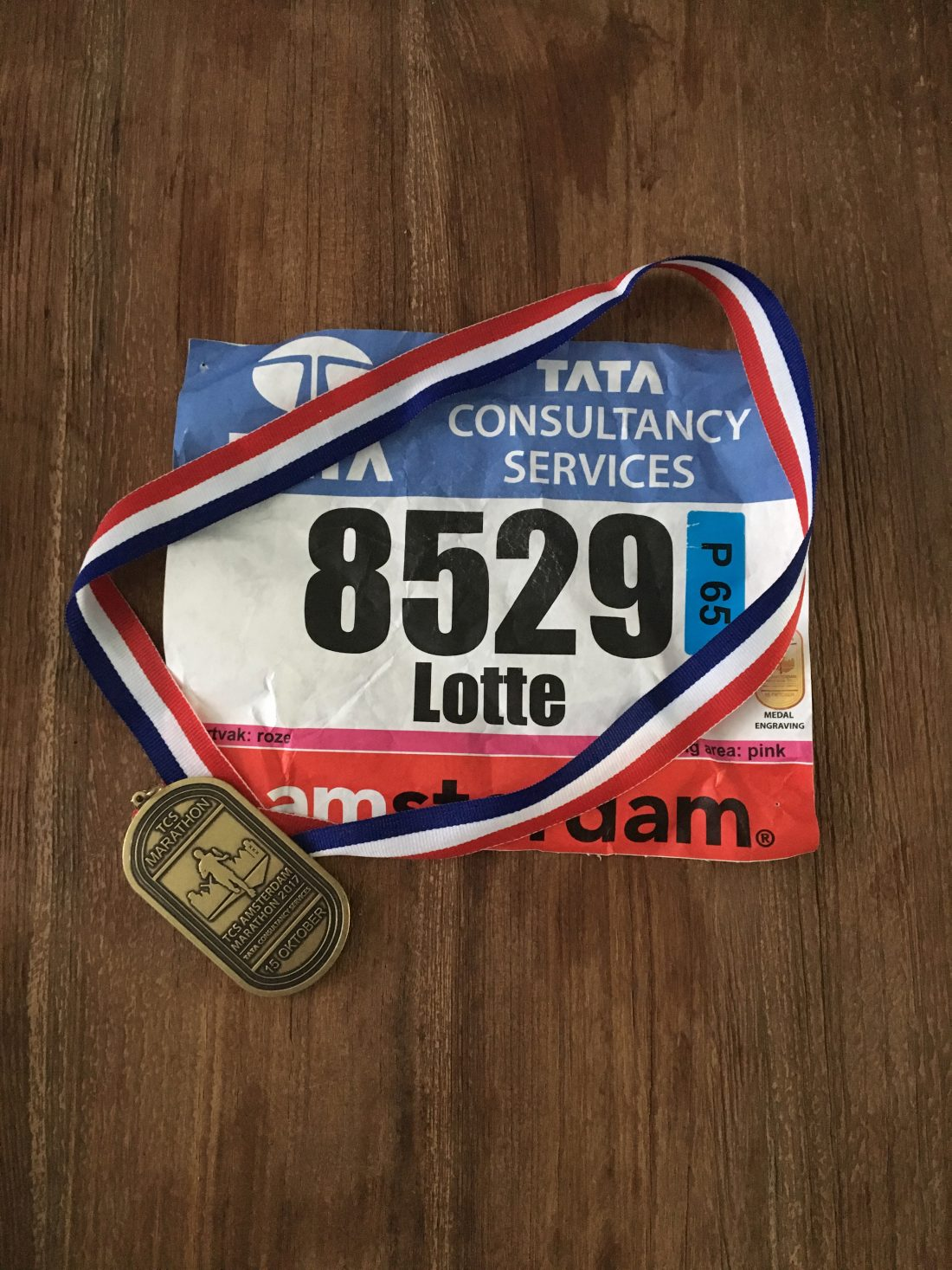Medal week - TCS amsterdam marathon
