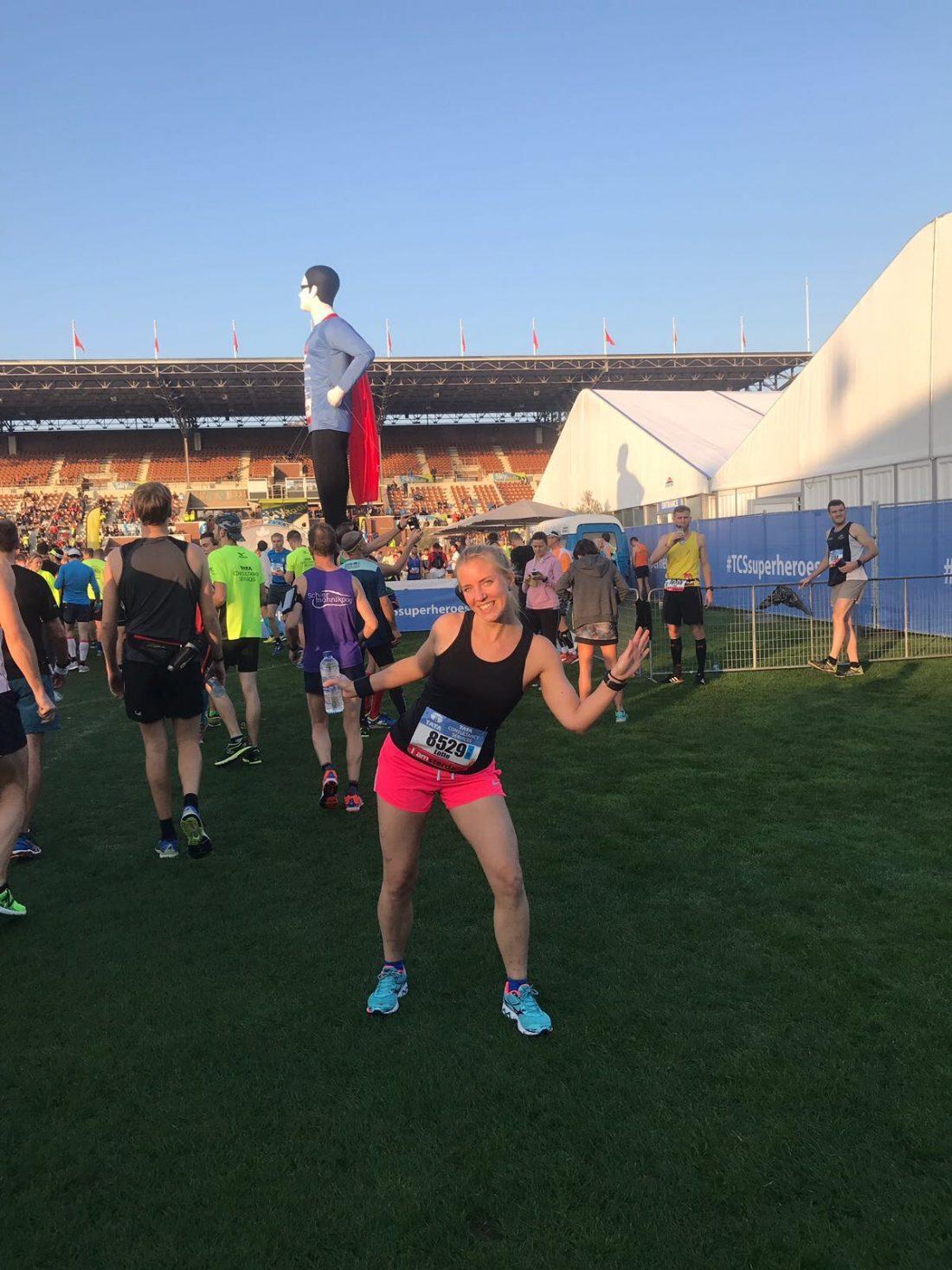 TCS amsterdam Marathon - in het olympisch stadion