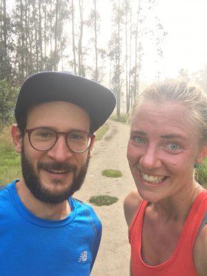 After workout selfie - na een slopende heuveltraining in parque metropolitano - quito