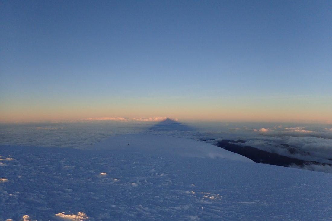 Elsa will be back for more!! Whymper top Chimborazo - wanderlotje
